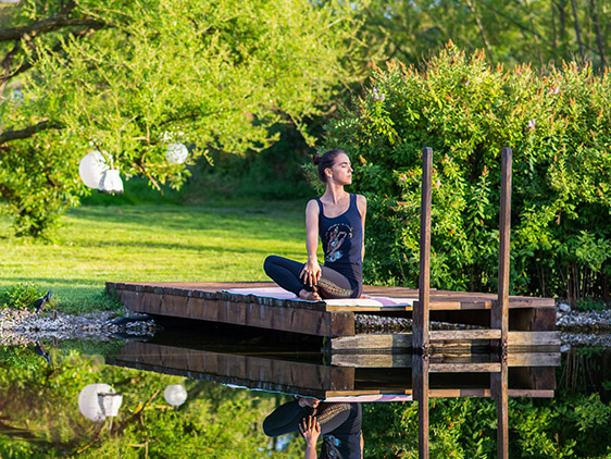 Yoga at Valea Verde Retreat